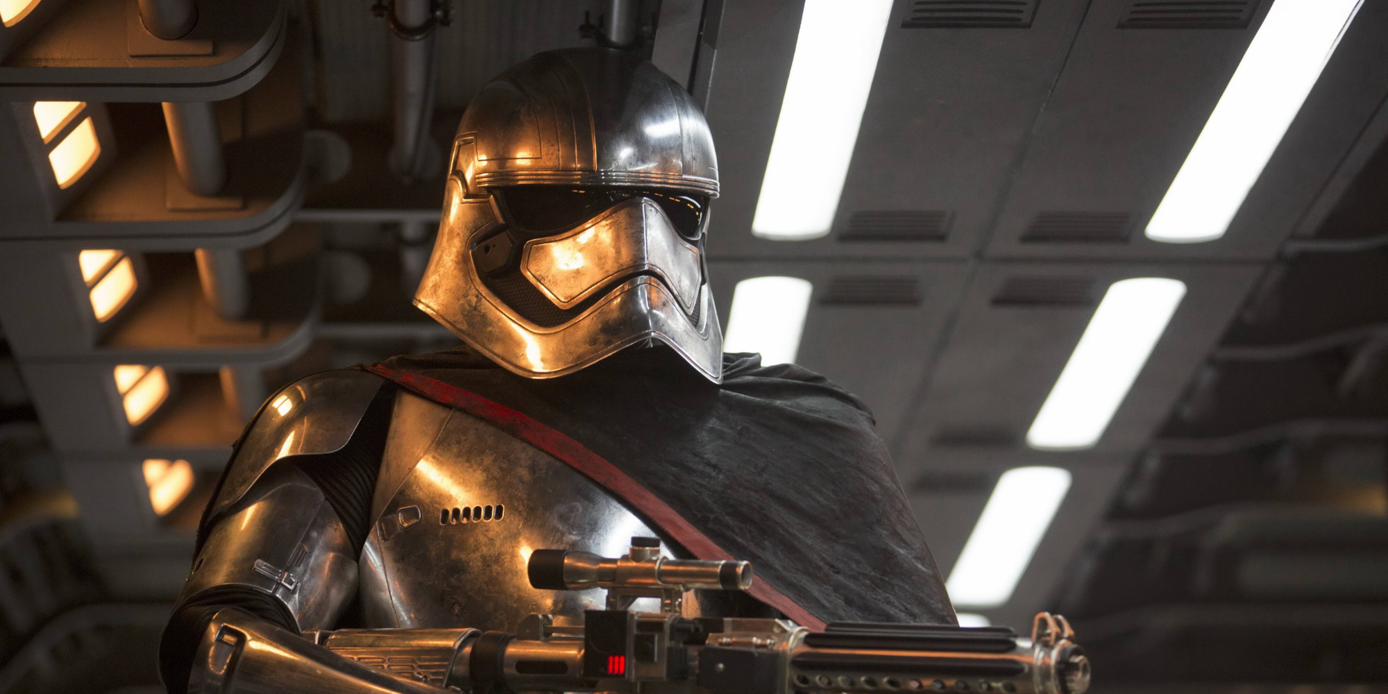 Star Wars: Captain Phasma Will See More Action in Last Jedi