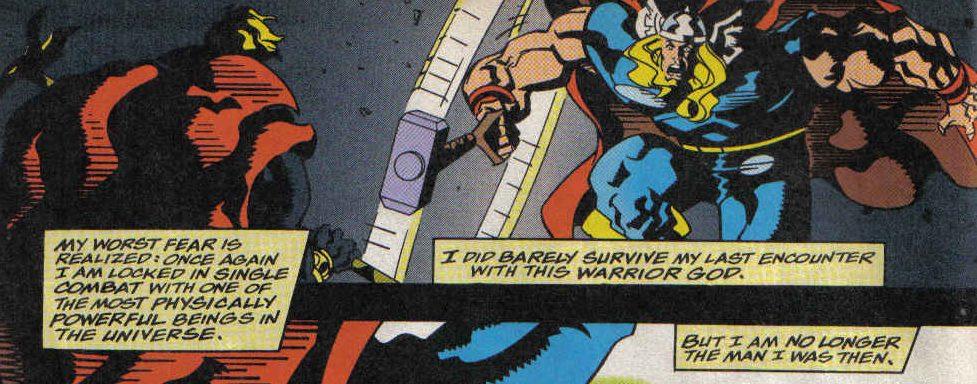 Thor vs Adam Warlock