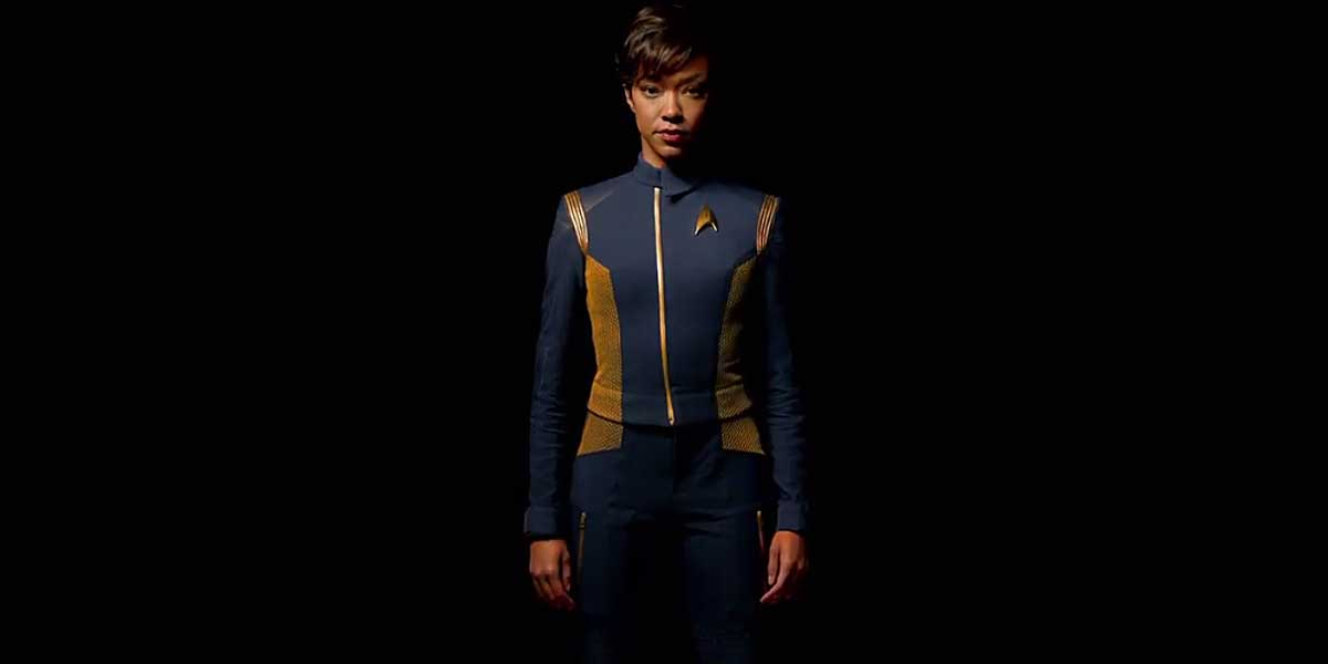 Star Trek: Discovery command uniform