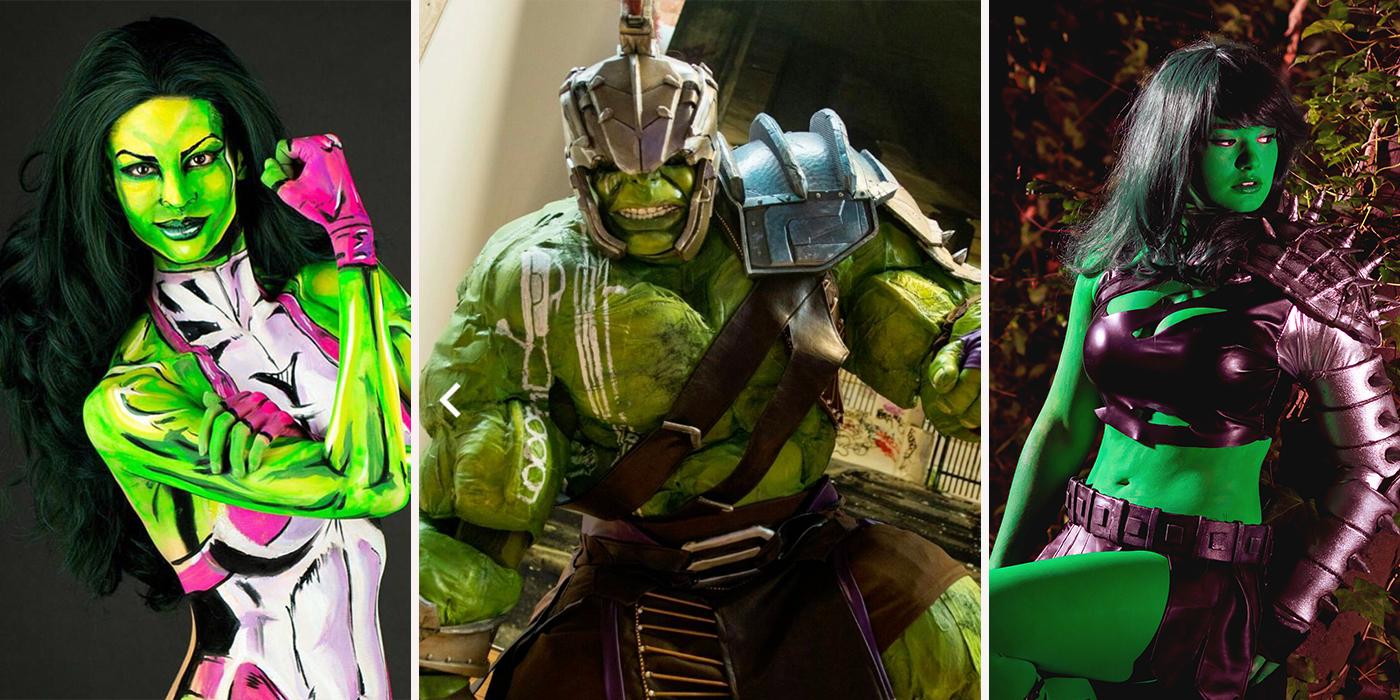 sc 1 st  CBR & Hulk And She-Hulk Cosplay | CBR