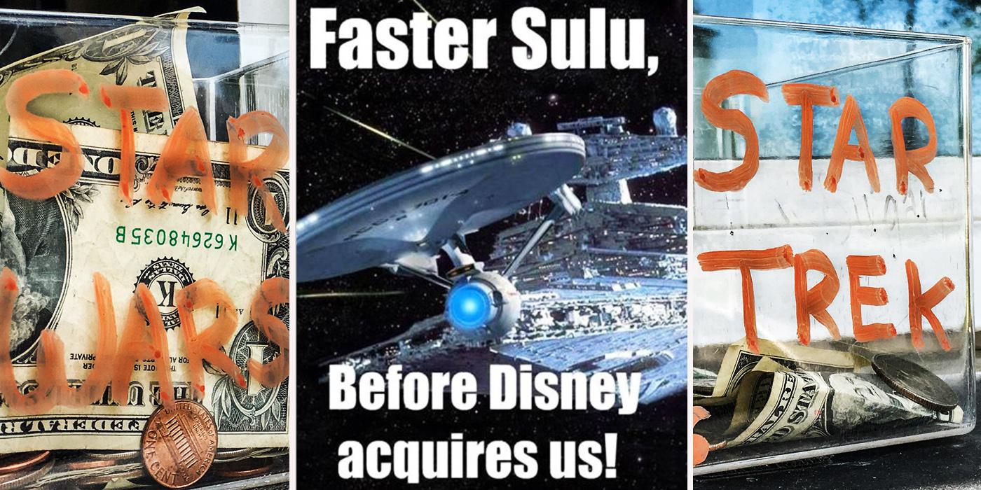 Star-Crossed: 15 SAVAGE Star Trek VS. Star Wars Memes