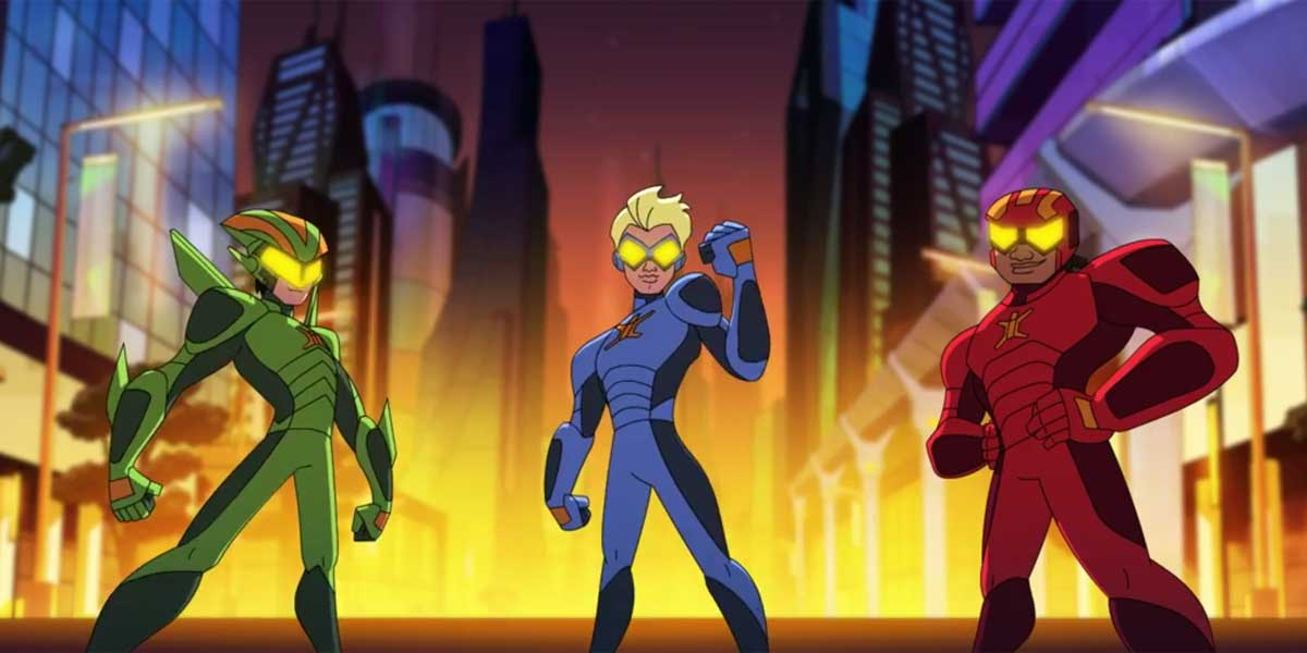 Netflix Debuts Stretch Armstrong and the Flex Fighters Teaser