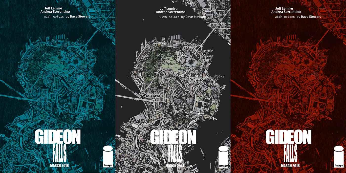 Image result for gideon falls jeff lemire image comics