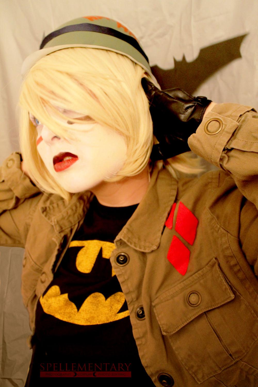 Harley Quinn Tank Girl Cosplay