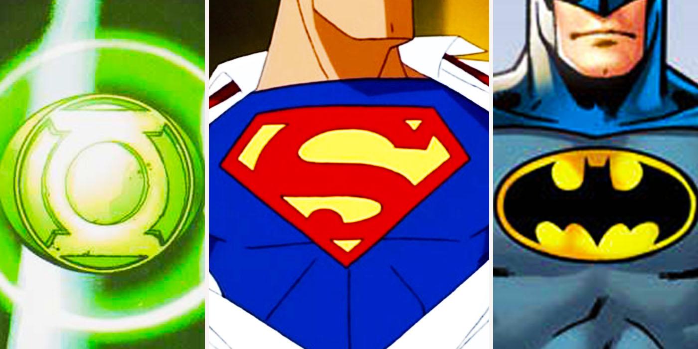 Dcs Most Powerful Superhero Symbols Ranked Cbr