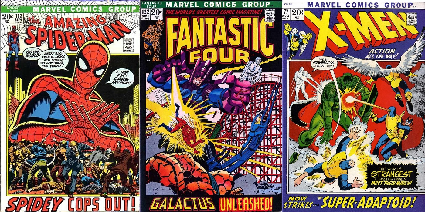 Re-Visiting Marvel\'s \'Picture Frame\' Cover Era | CBR