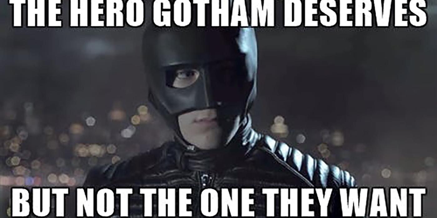 hero gotham main gotham memes cbr