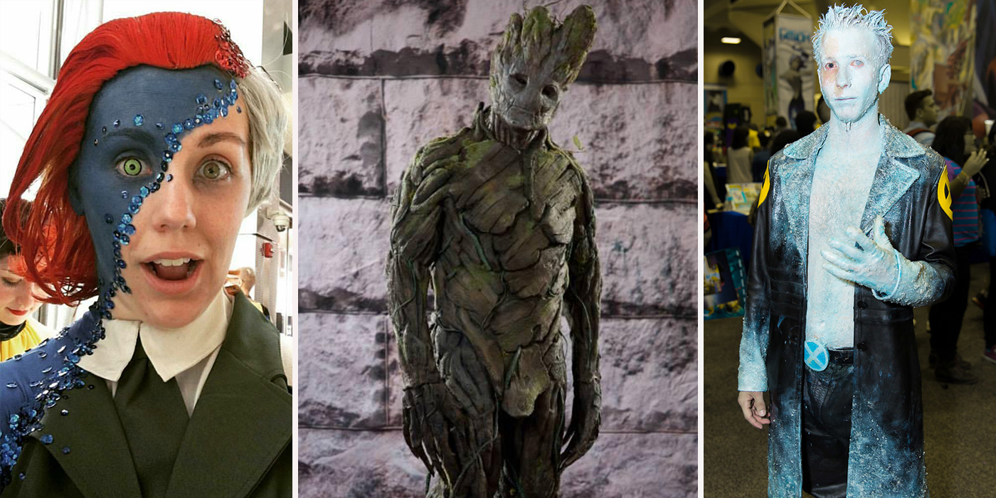 Image result for Lili,Reinhart,casually,does,cosplay,and,special,effects,makeup,in,her,spare,time