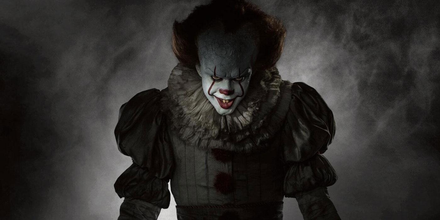 Wallpaper It Clown Bill Skarsgard Horror 2017 Hd: It: Pennywise Ate A Baby In Cut Scene