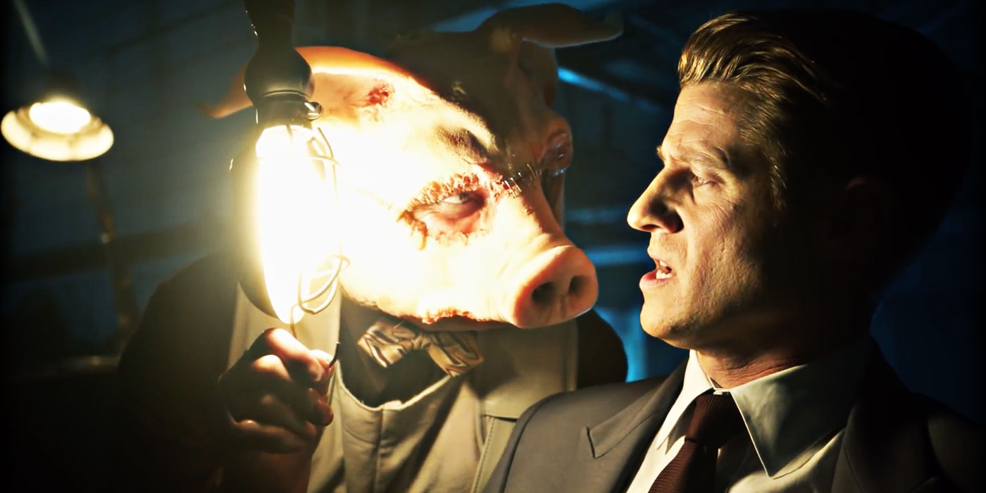 Gothamu0027s Professor Pyg Is Creepy U0026 Charming In New Clip
