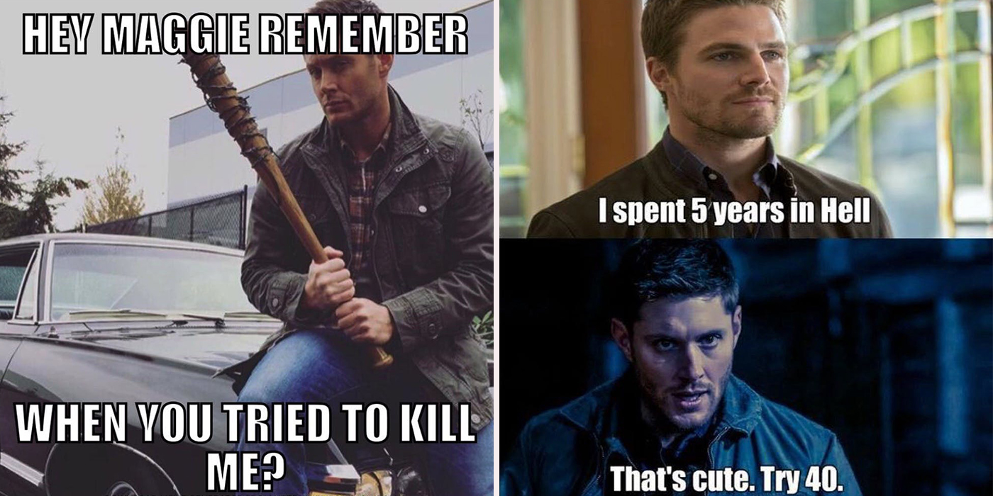 supernatural memes main side splitting supernatural memes cbr