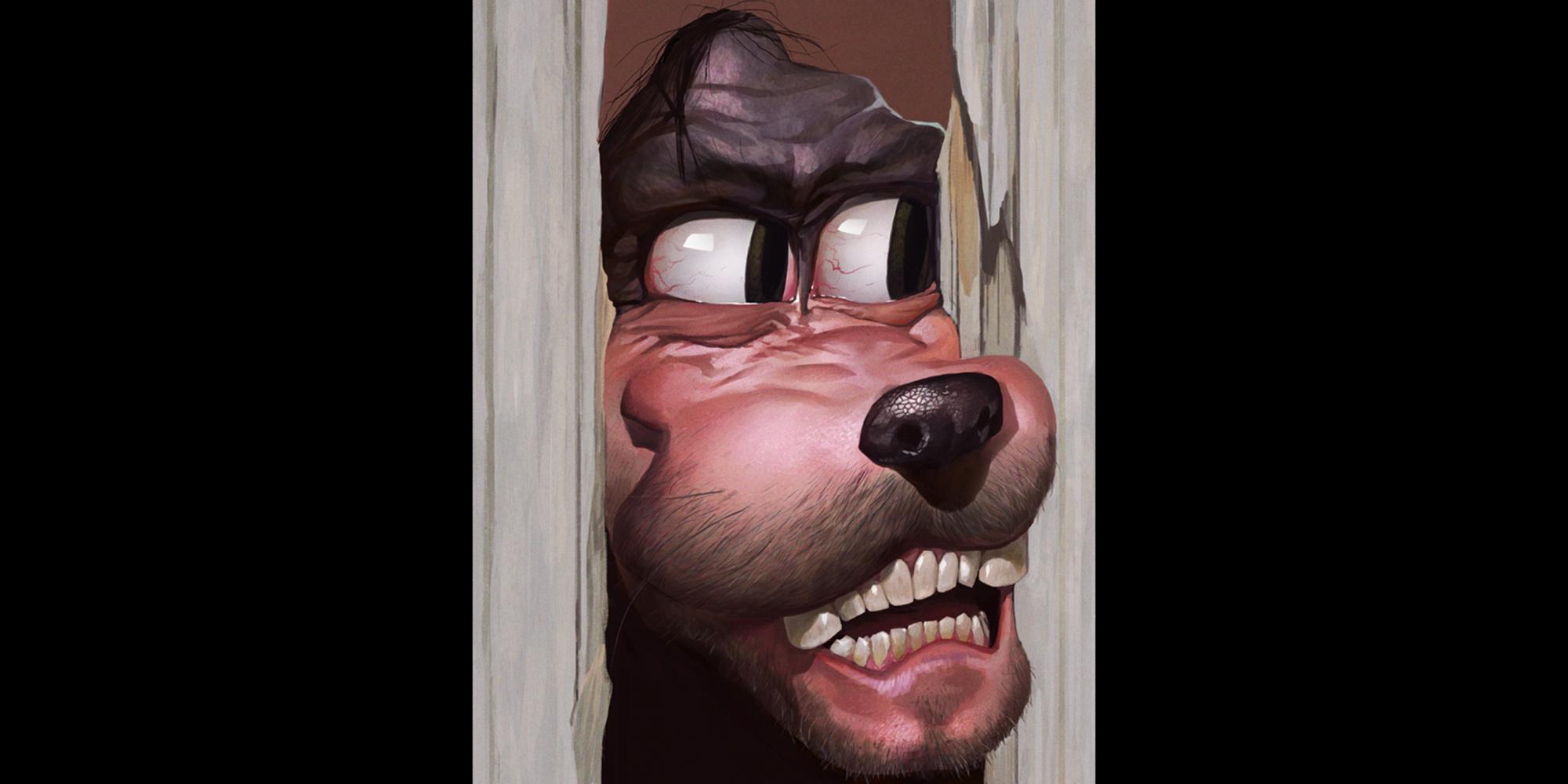 Heeeres Goofy Disney Disturbing Fanart