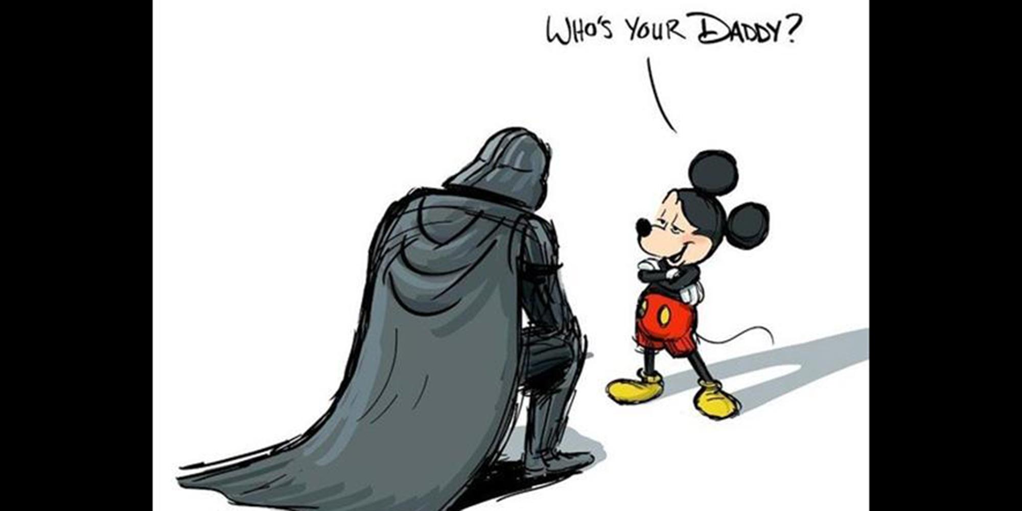 Vader Mouse Disney Disturbing Fanart