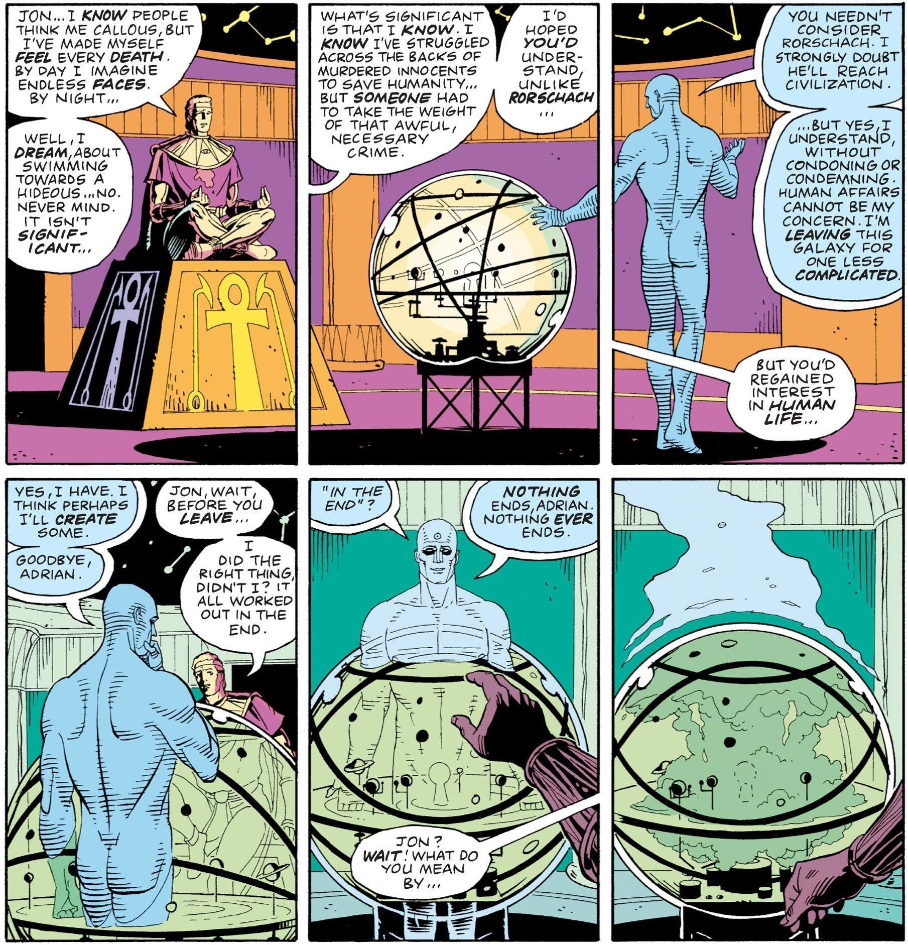 doctor manhattan create some people