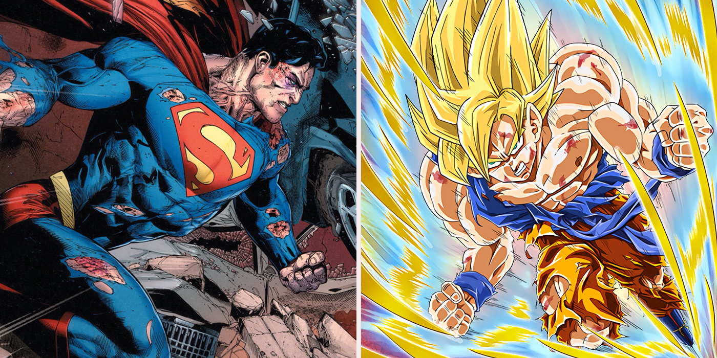 8 Things Goku Can Do That Superman Can't (And 7 Things He Can't)