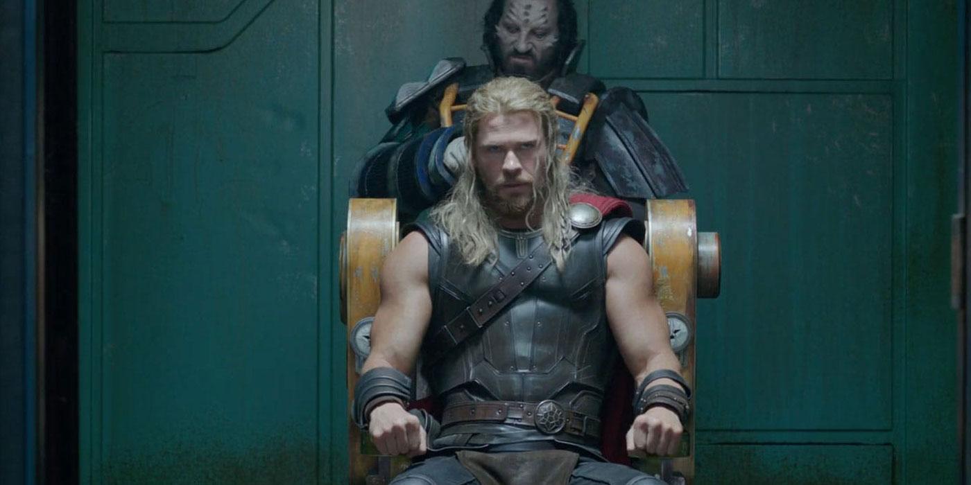 Thor: Ragnarok Concept Art Gives Chris Hemsworth a Buzzcut