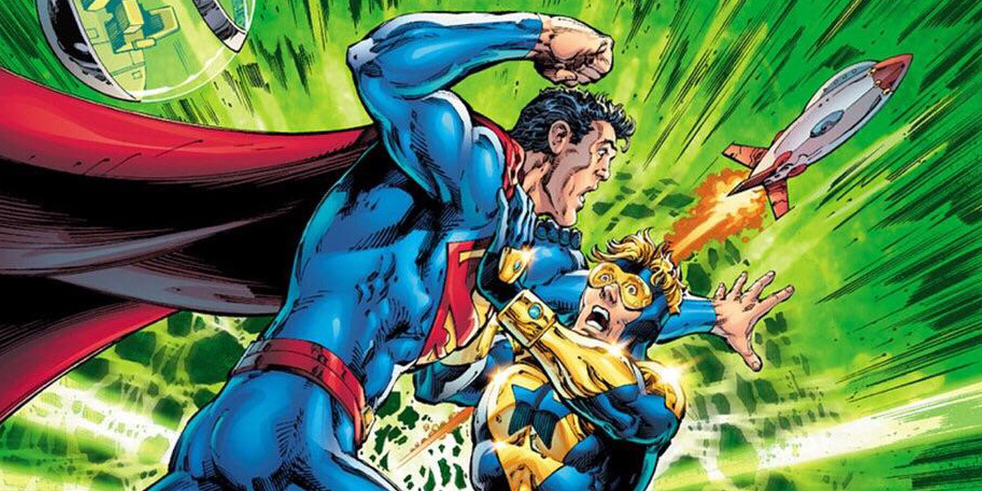 EXCLUSIVE: Booster Gold Joins Superman for a Trip to Krypton in Action Comics #993