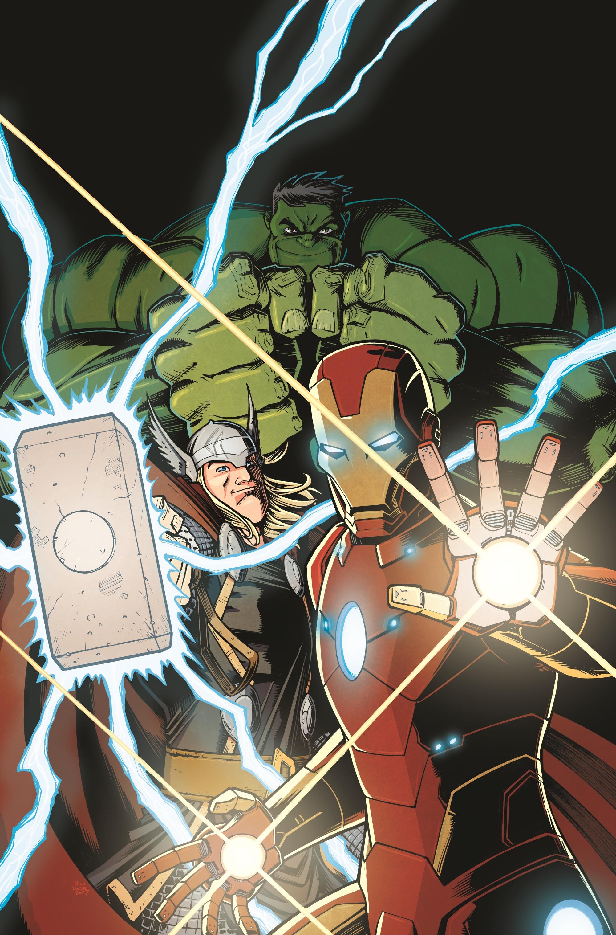 avengers back to basics cover