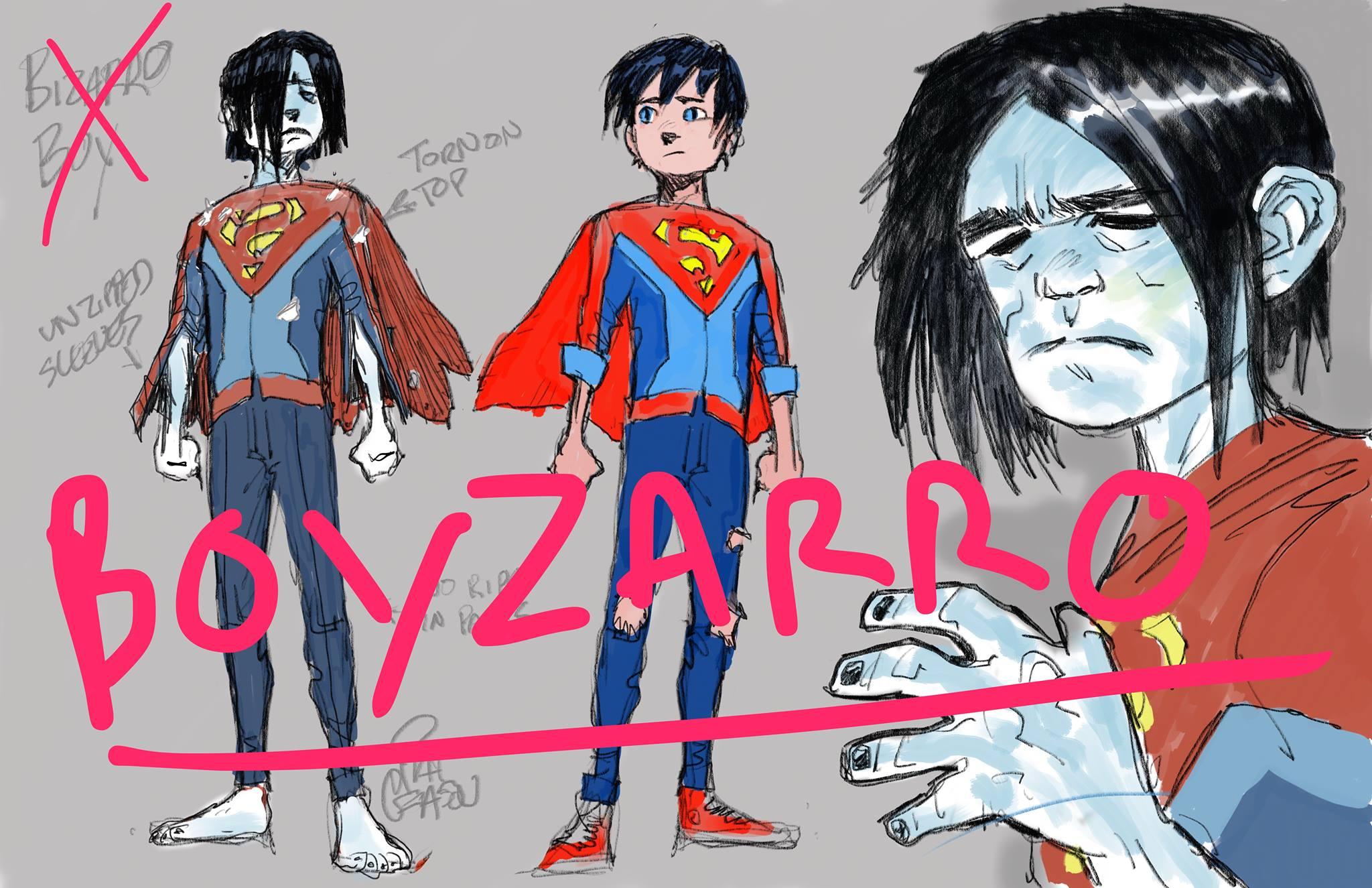 Boyzarro character design by Patrick Gleason