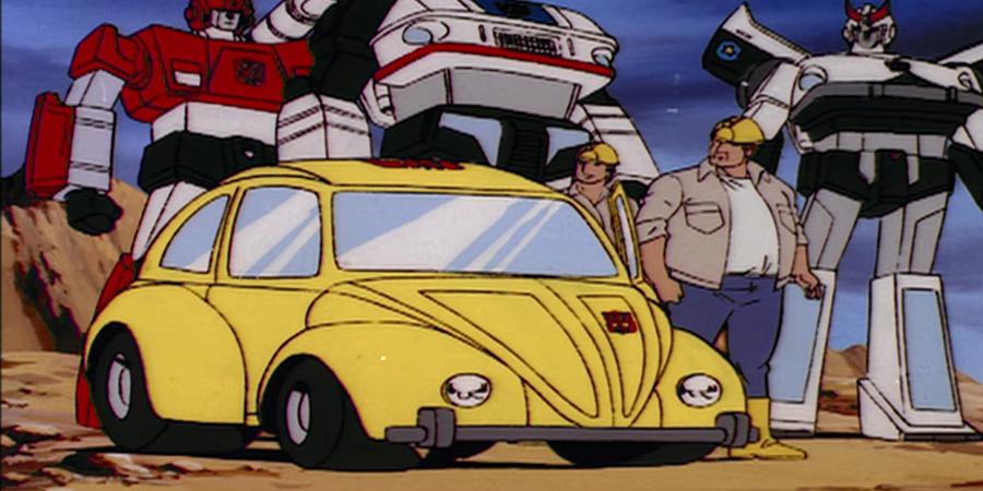 Bumblebee Photo Evokes 80s Animated Series