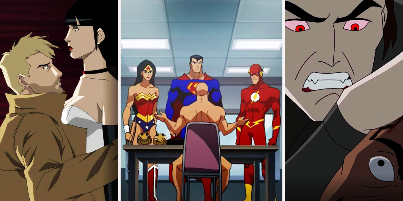 Cartoon Characters Justice League : Inappropriate scenes from animated justice league movies