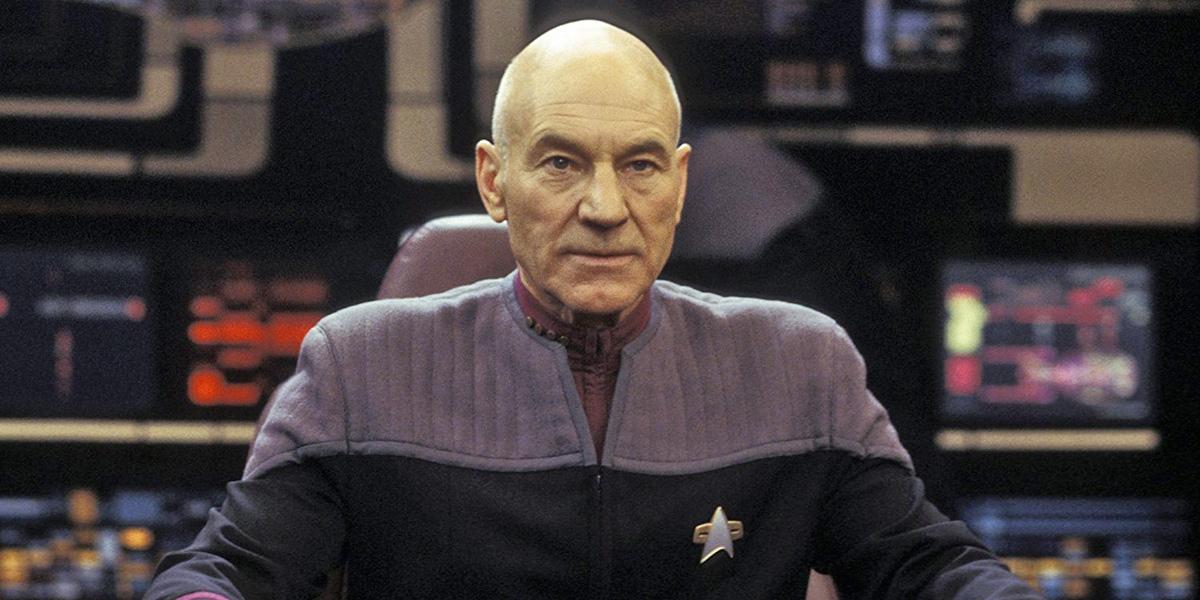 Patrick Stewart Shares BTS Photo From His New Star Trek Series