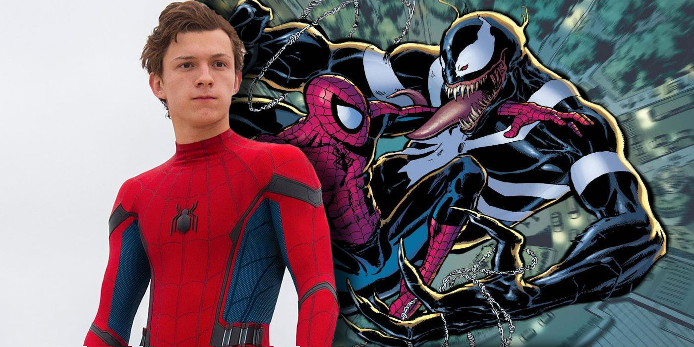 Image result for tom holland and venom