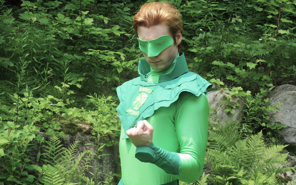 Alan Scott Green Lantern Cosplay Galactic Reptile