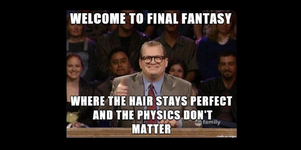 Drew Carey Final Fantasy Meme