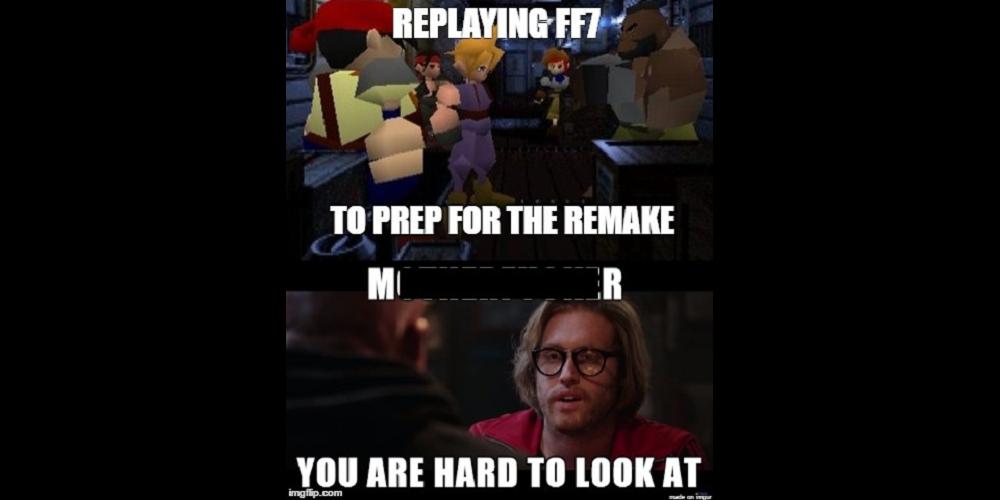 Final Fantasy VII Deadpool Meme