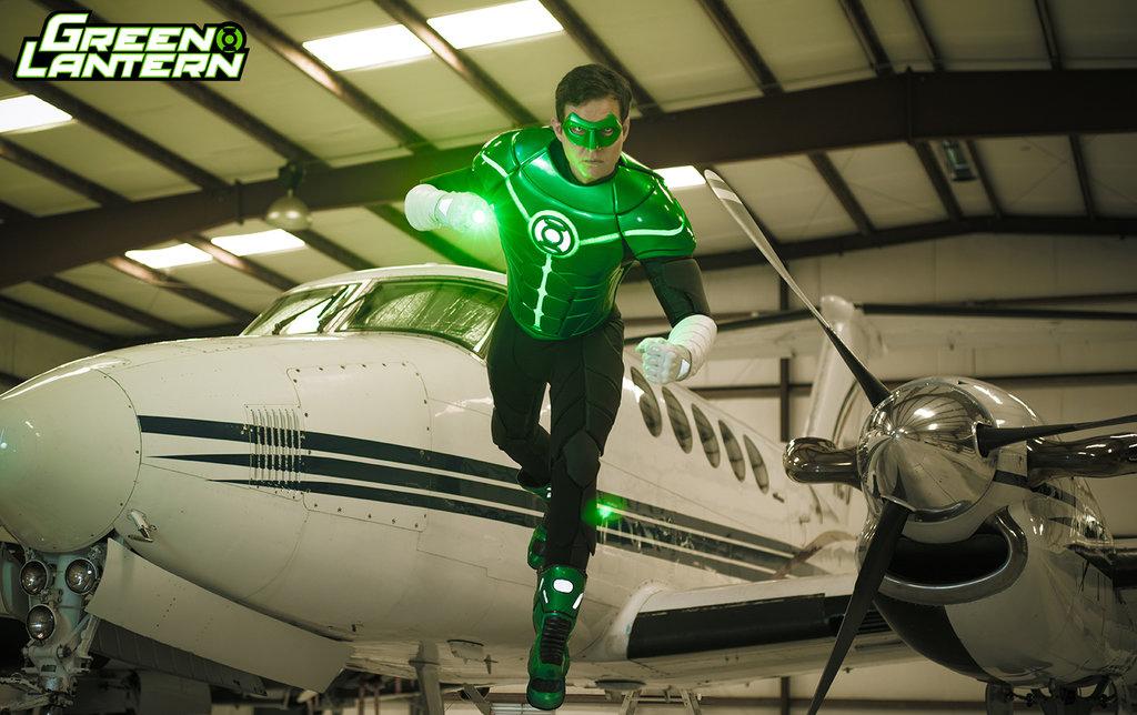 Green Lantern Cosplay Benny Lee