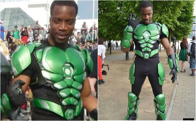 Green Lantern Cosplay Bfortunas