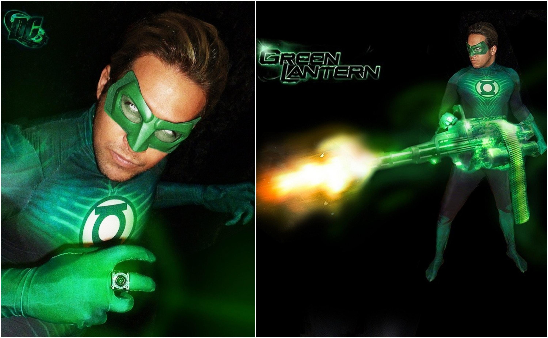 Green Lantern Cosplay CaptainJaze