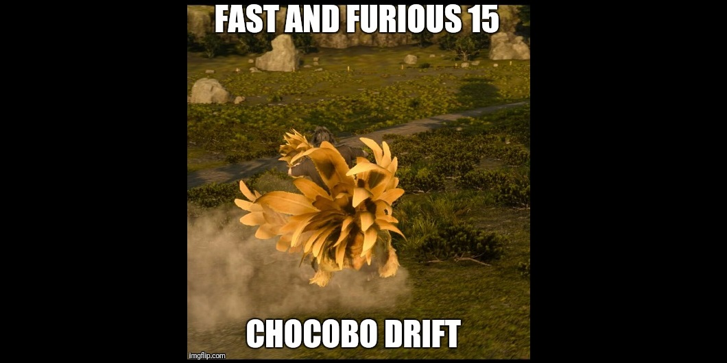 Image of a chocobo from Final Fantasy