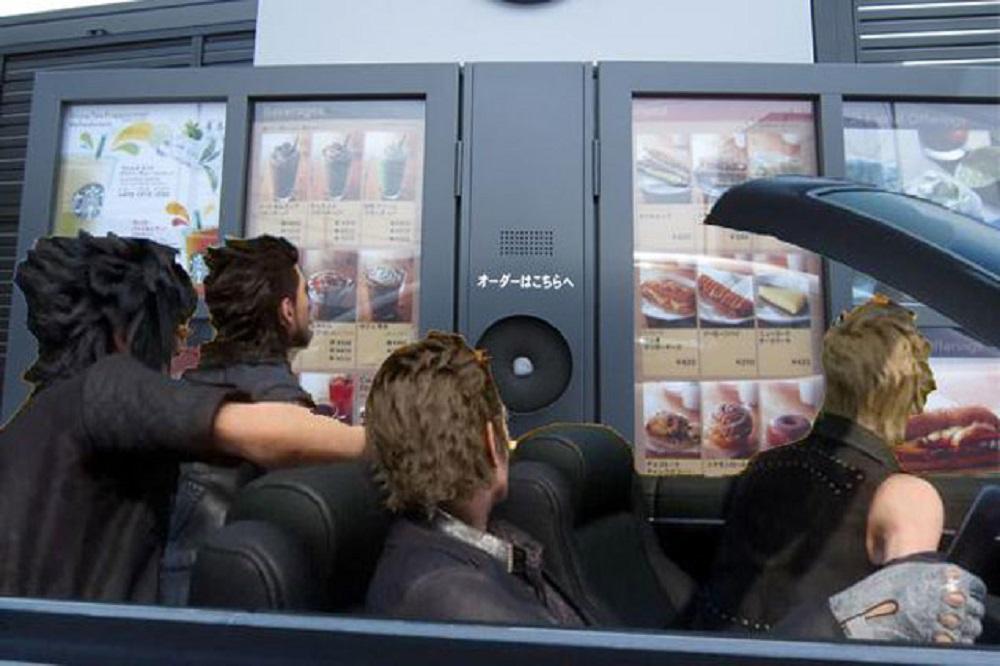 Noctis Prompto Final Fantasy XV Road Trip Meme