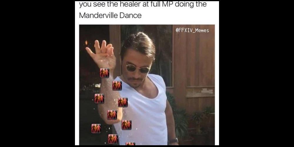 Salt Bae Manderville Dance from Final Fantasy XIV