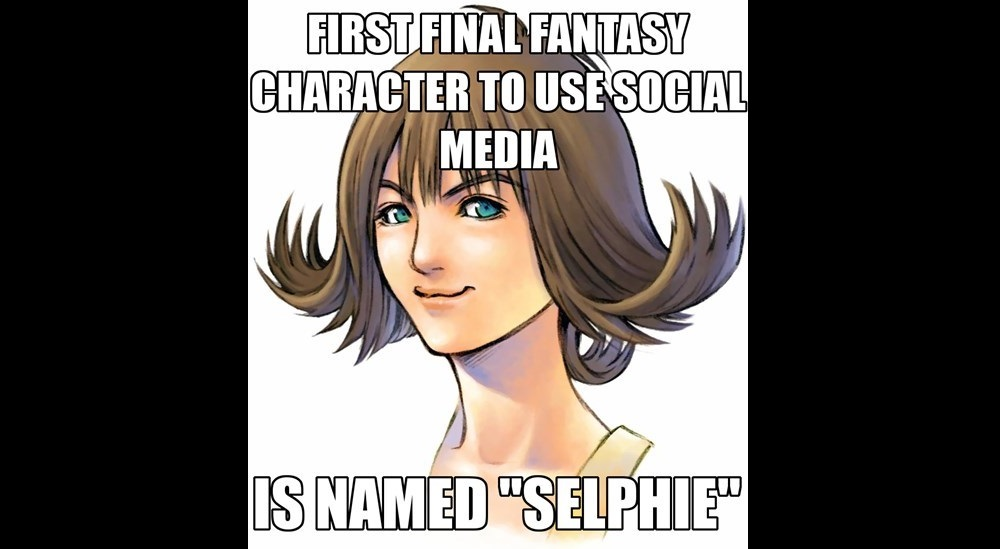 Selphie from Final Fantasy VIII Meme