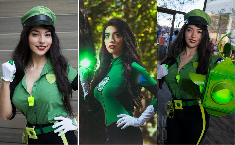 SurfingTheVoid Jessica Cruz Green Lantern Cosplay