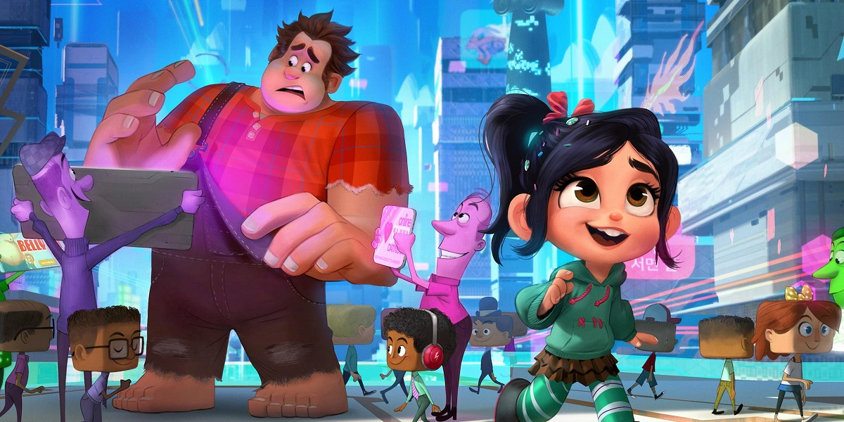 New Ralph Breaks The Internet Footage Debuts Gadot S Shank Slaughter Race Comic News