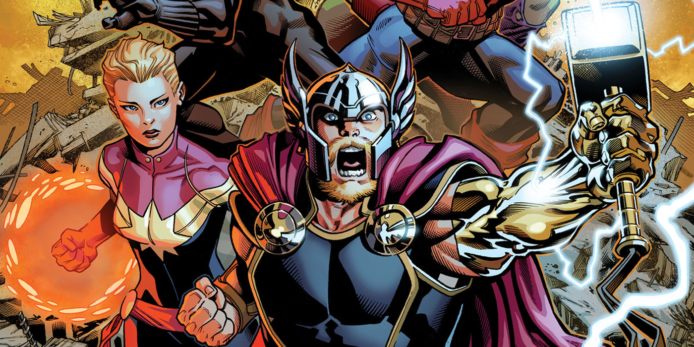 marvel announces avengers 1 by jason aaron ed mcguinness - Avengers Marvel