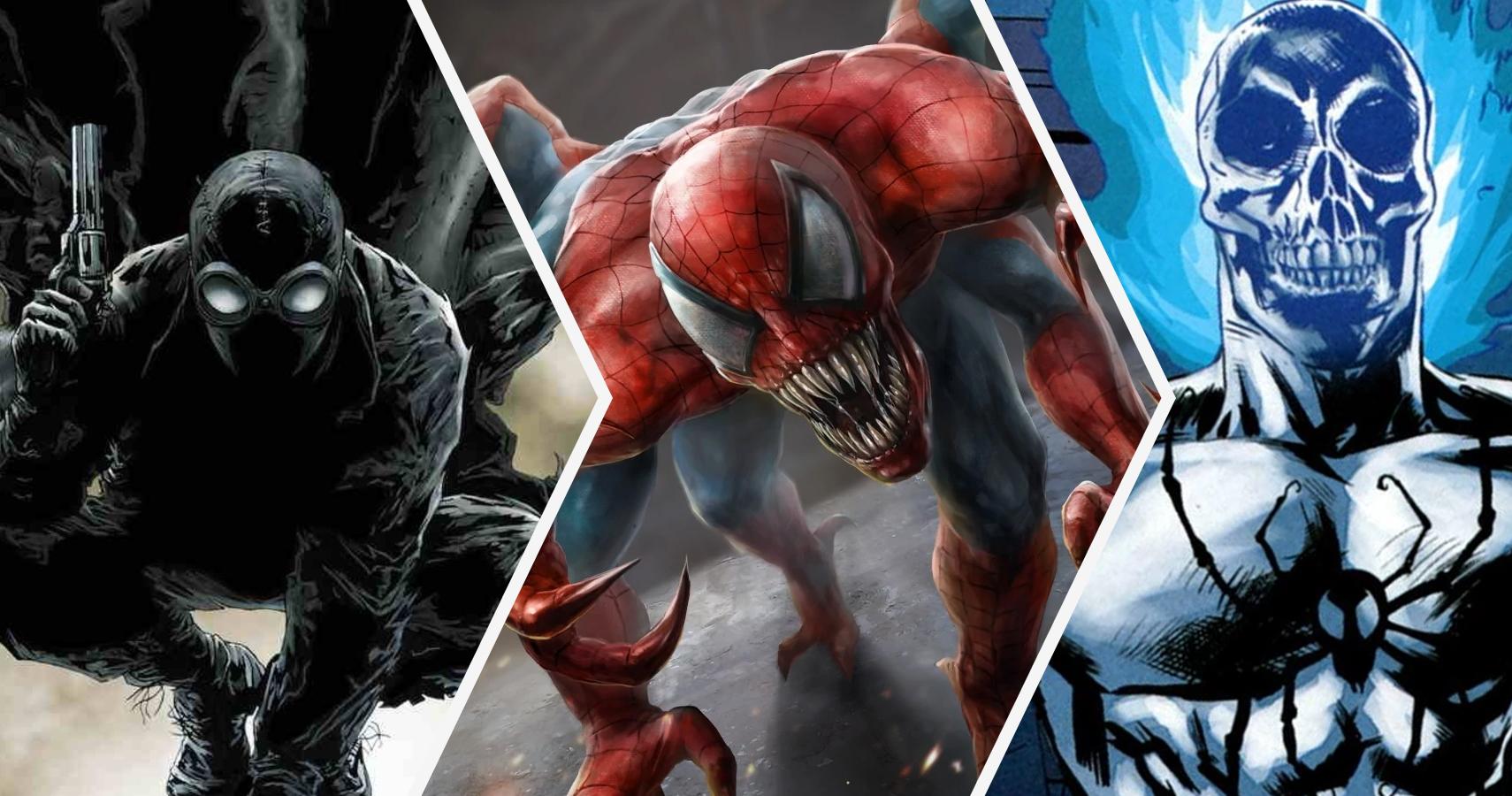 stronger and weaker dark versions of spider-man | cbr