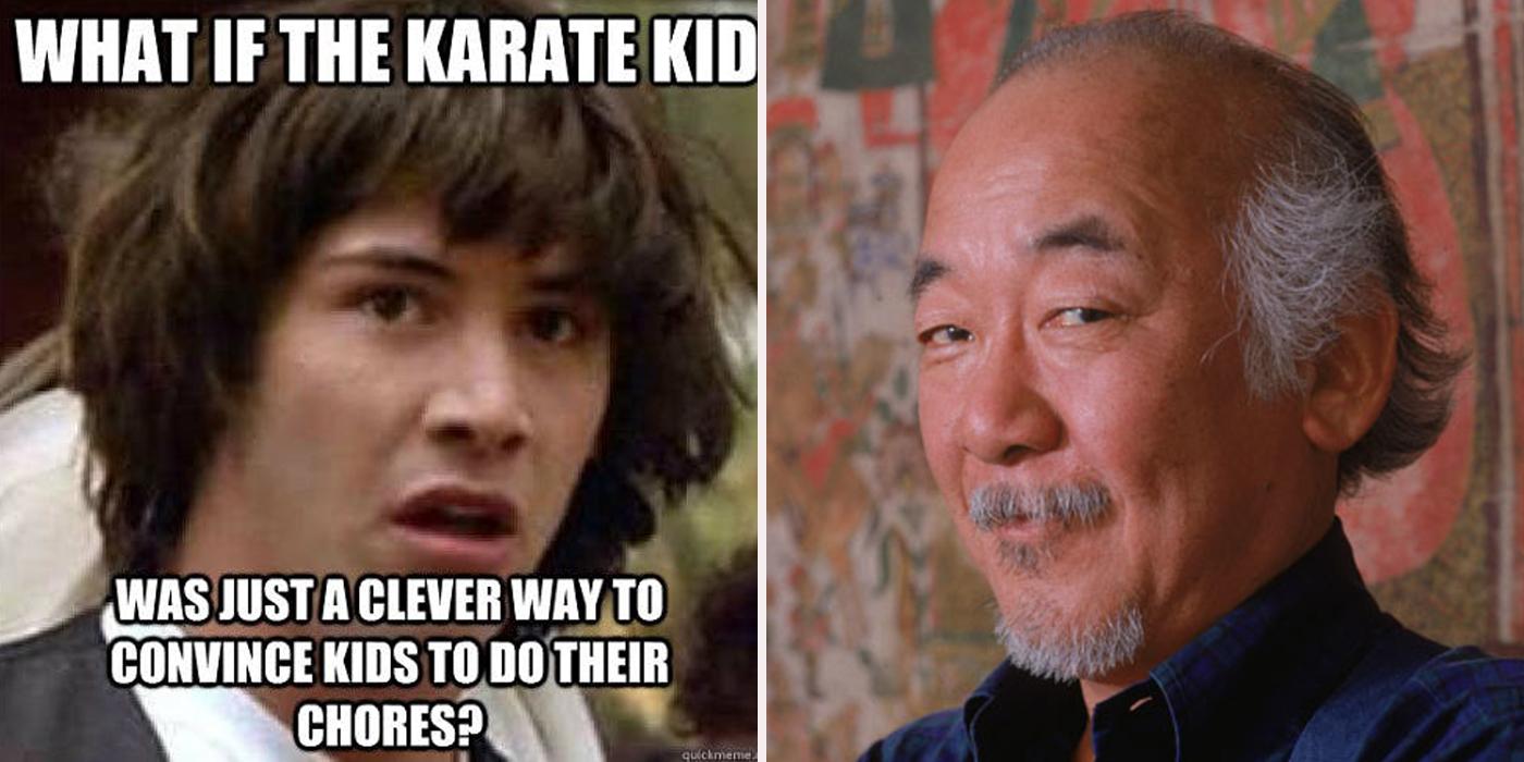 karate kid miyage dank karate kid memes cbr