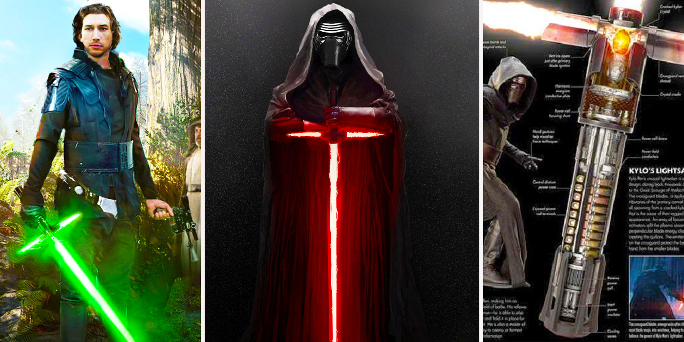 7 Dark Facts About Kylo Ren's Lightsaber (And 8 Rumors We've Heard)
