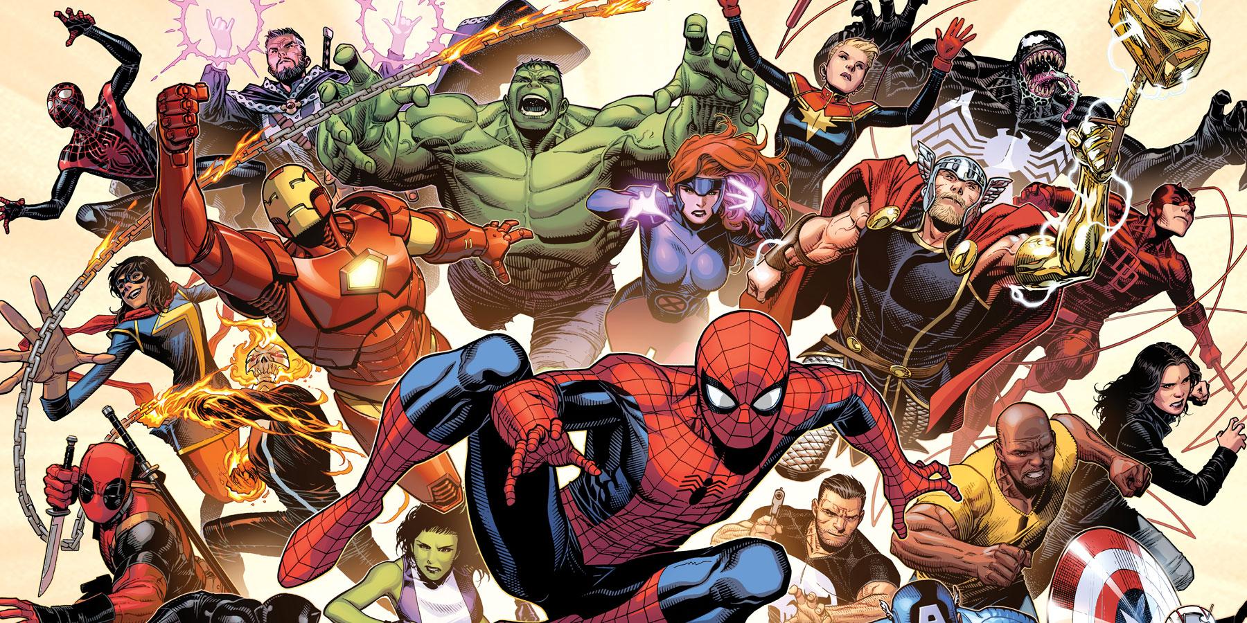 A List Of Marvel Superhero Movies