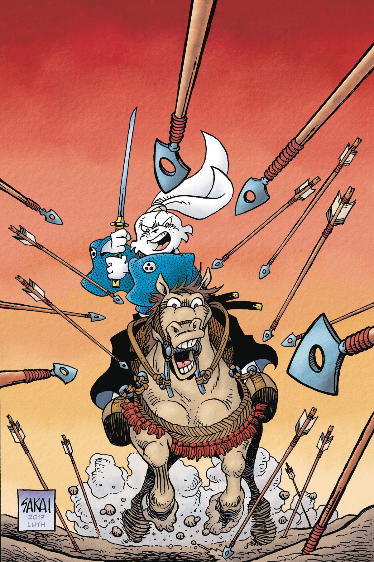 Stan Sakai Relaunches Usagi Yojimbo with First New #1 in 22 Years