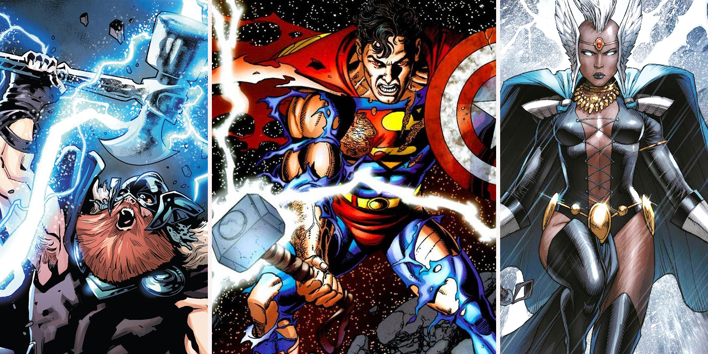 Thors Of A Different Color: 8 Thors More Powerful Than The ...