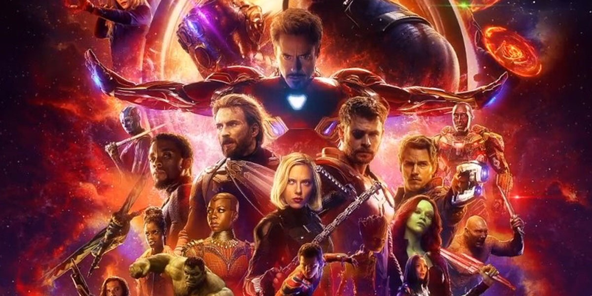 marvel s avengers infinity war motion poster is fantastic