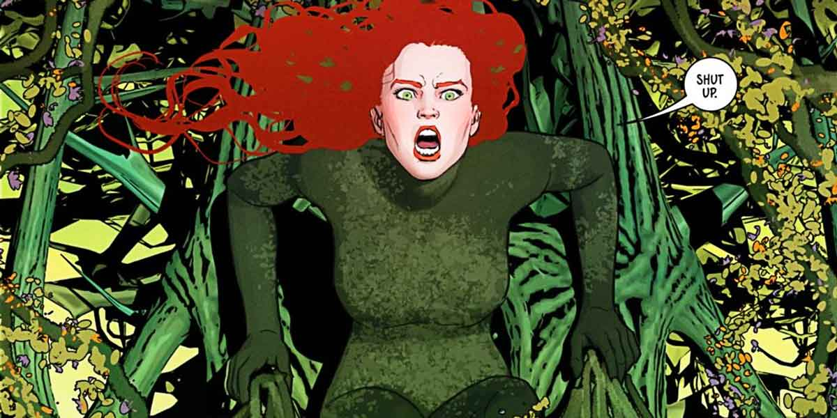 how and why poison ivy takes over the entire world in batman