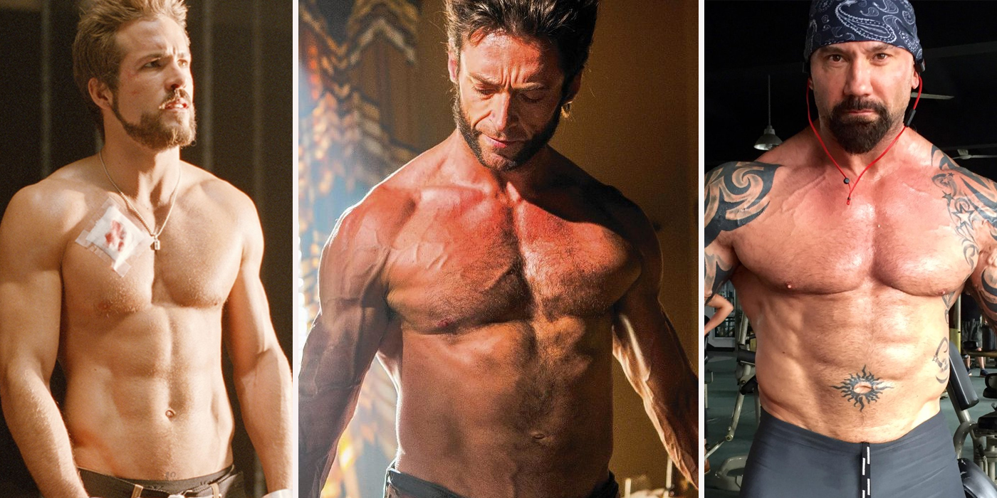 10 Superhero Actors Who Never Used Steroids (And 7 Who Are