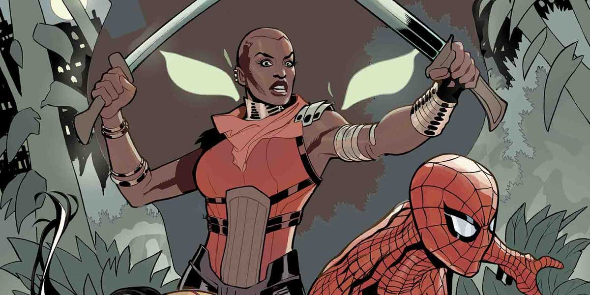 The Dora Milaje Take the Lead, Team with Marvel Icons in Wakanda Forever